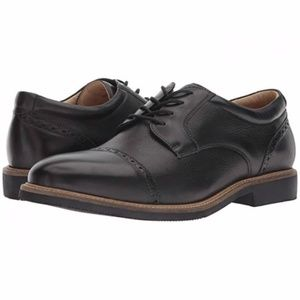 JOHNSTON & MURPHY Barlow cap toe lace up oxford